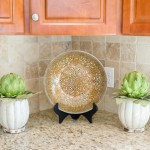staged kitchen, kitchen accessories