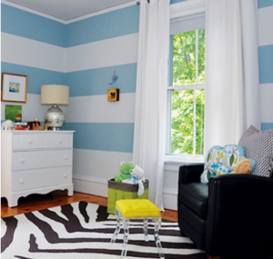Classic look for a child's room