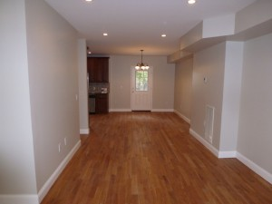 Long tunnel like living/dining space confused buyers