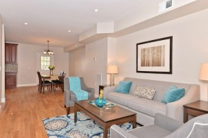 Staging added warmth, color, and eliminated buyer confusion!